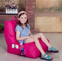 Big Joe side pocket children bean bag chair , sofa recliners