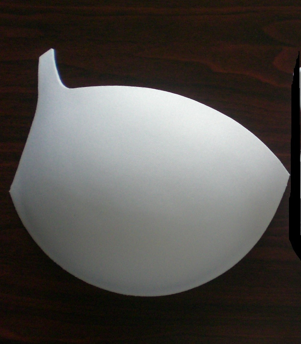 3/4 beach foam molded bra cups factory 1000
