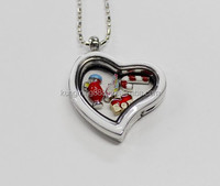 Cheapest stainless steel jewelry,stainless steel glass locket with glass locket supplies