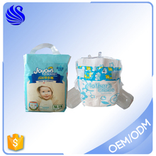 China Baby's Products Blue Film Bales Cute Disposable Baby Diaper Nappy