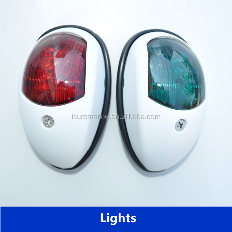 Boat 360 degree LED navigation/single anchor light/lamp