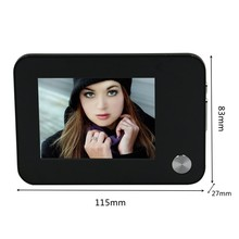 OEM 3.5 inch taking picture, video, motion detection Saful TS-YP3511 wired video door phone
