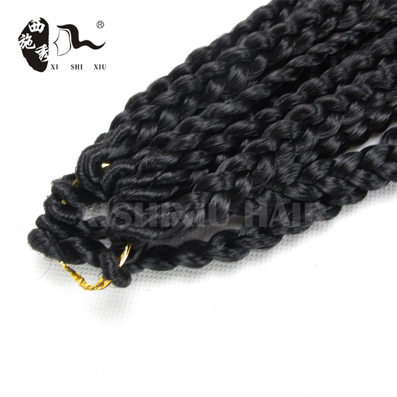 2016 new arrival Alibaba Express Hair Extension 3s Havana Mambo Box Braid Crochet Braids With Synthetic Hair