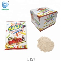 Magic cola flavours chewing gum powder