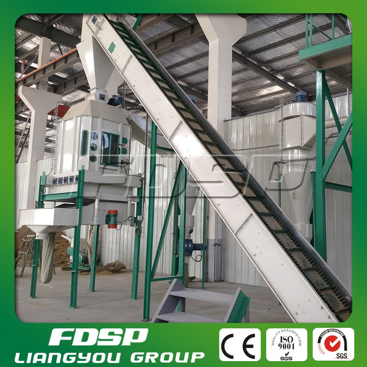 Automatic best manufacturer provided China supplier rice husk pellet production line for making biomass fuels