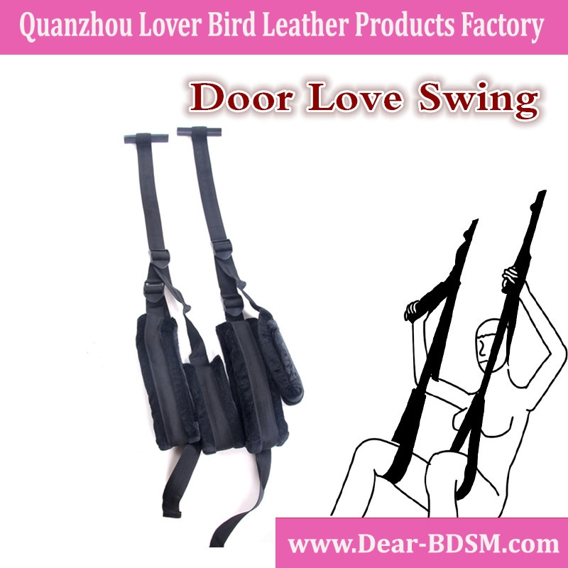 Height Adjustable Sex Swing Door Fetish Bondage Black Adult Toys for Couples Love Swing Sex Chair Tongue Sex Toy Sexy bondage re