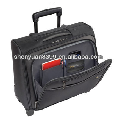 Lightweight trolley bags Hot sale portable trolley briefcases
