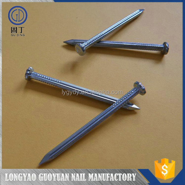 China wholesale cheaper polished & galvanized finish stainless steel twist nail