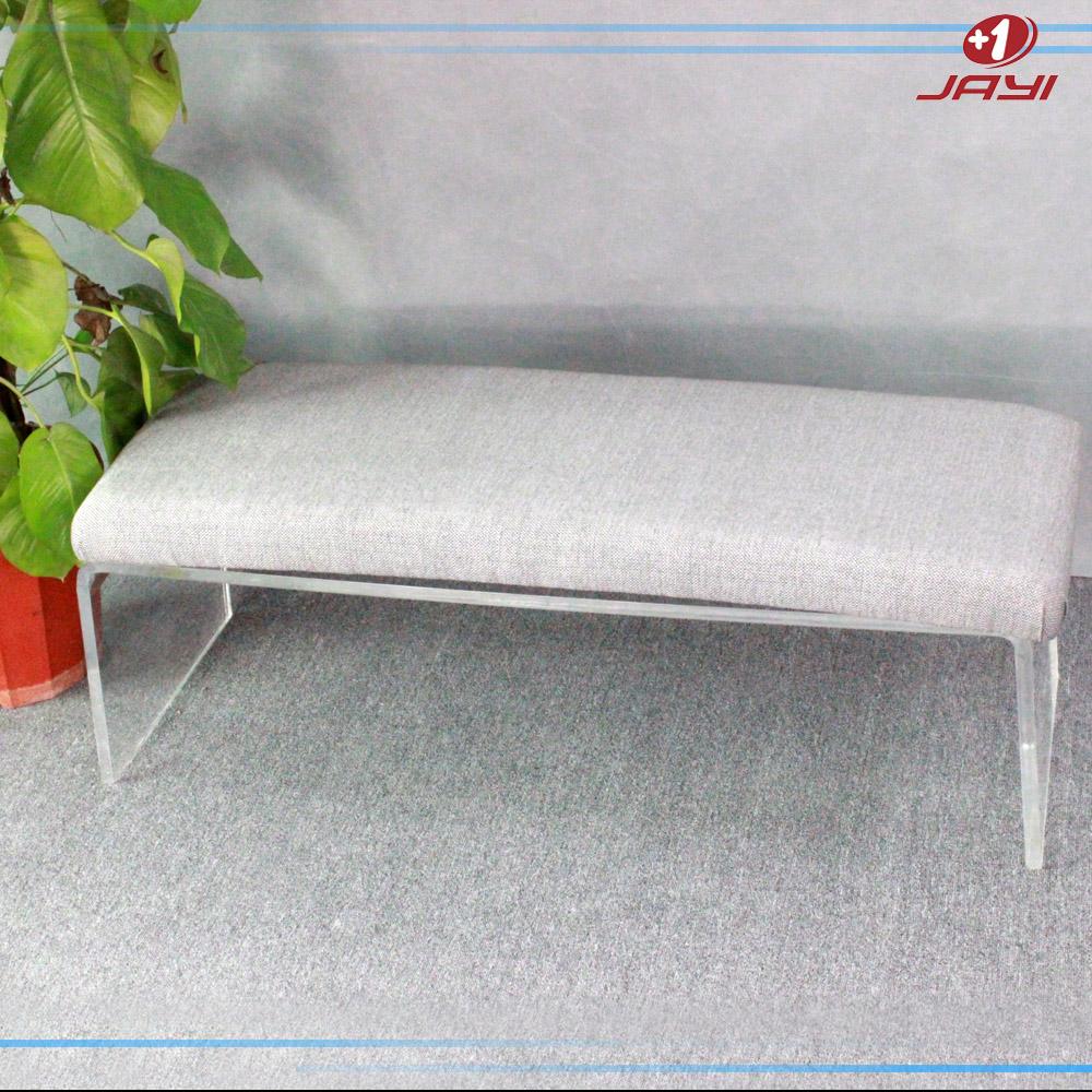 clear lucite sofa