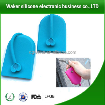 Hot Promotional Gift Item Silicone Unique Key Case/Holder/POCHI with magnet