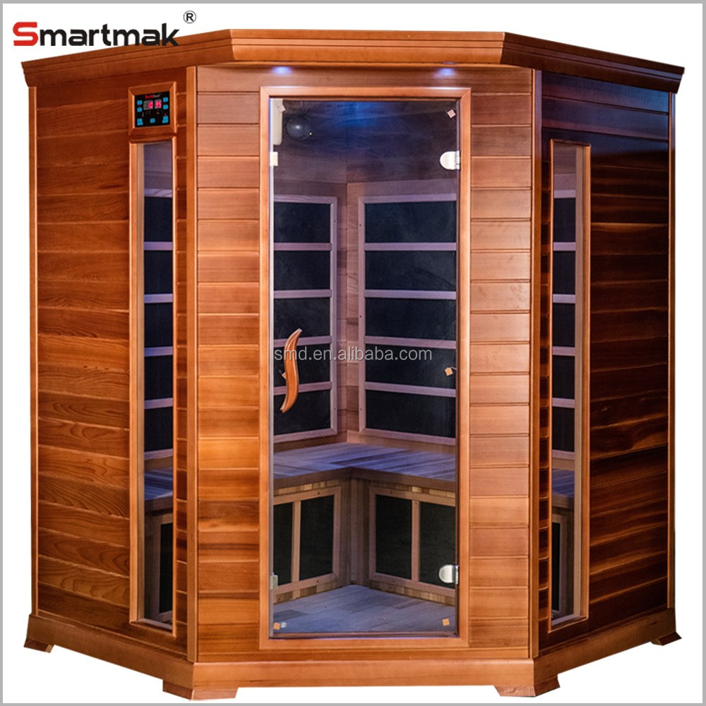 6 person low EMF healthcare infrared ozone sauna