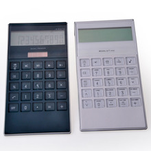 Large 10 Digit Desktop Calculator with Dual Power