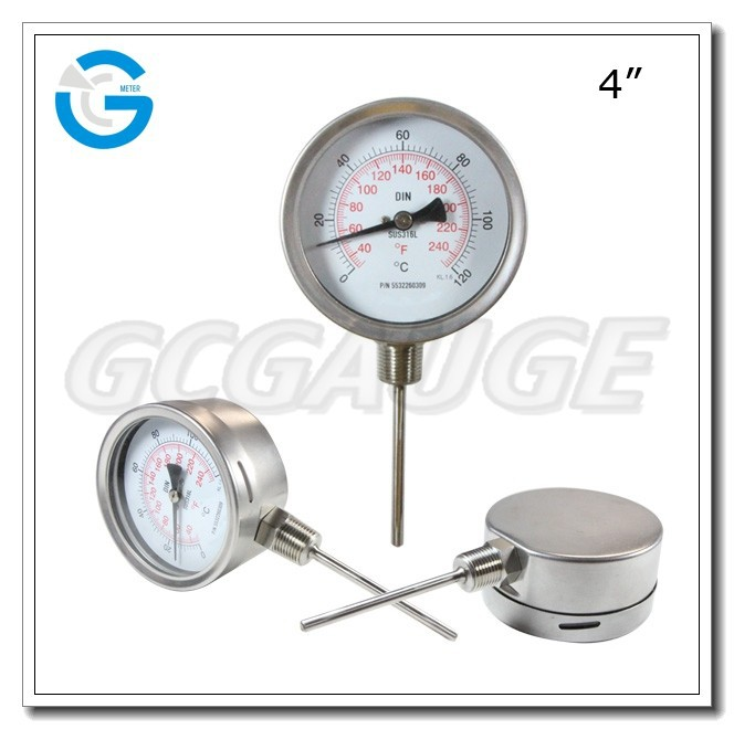 Heat Measuring Instruments : High quality stainless steel liquid temperature