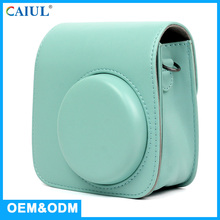 China Customized Instax Mini9 Leather Camera Bag Camera Case Factory