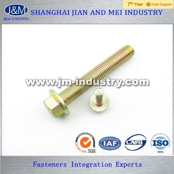 M10 bolt diameter/Hex Flange Bolt manufacturer