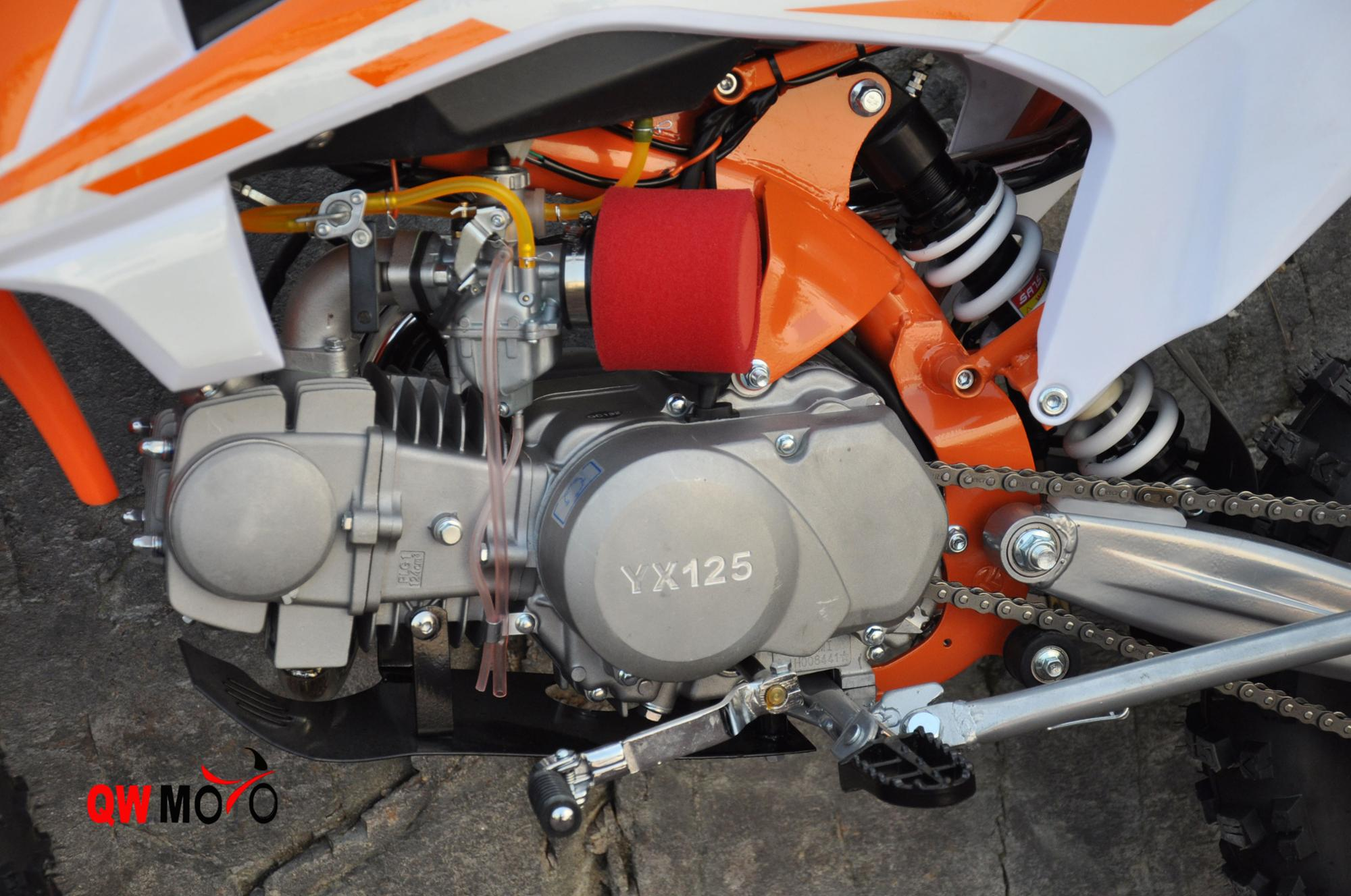 New High quality 125cc 4 stroke oil cooled engine kick start 125cc motorcycle