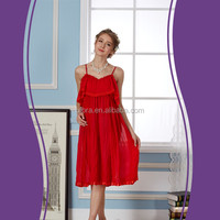 High end new design stylish long cheap breathable silk nightgown