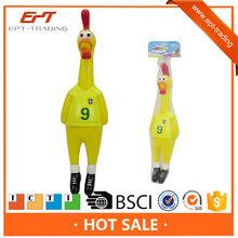 Funny squeeze shrilling scream chicken toy