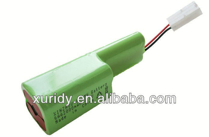 power tool battery 2000mAh 7.2V AA size