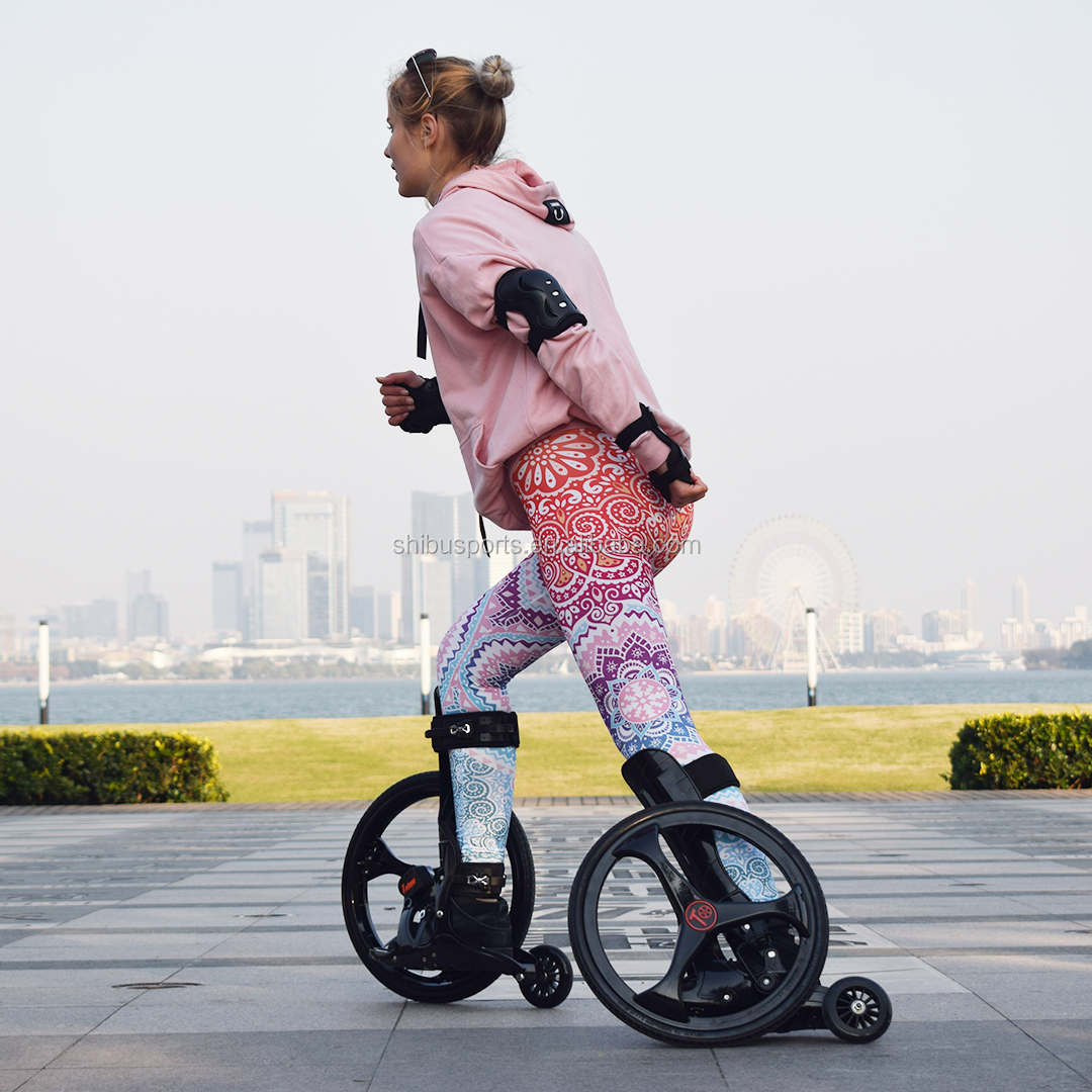 2018 unique big wheel roller skate top speed 40km/<strong>h</strong>