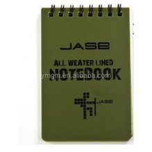 All Weather Notebook Waterproof Writing Paper in Rain