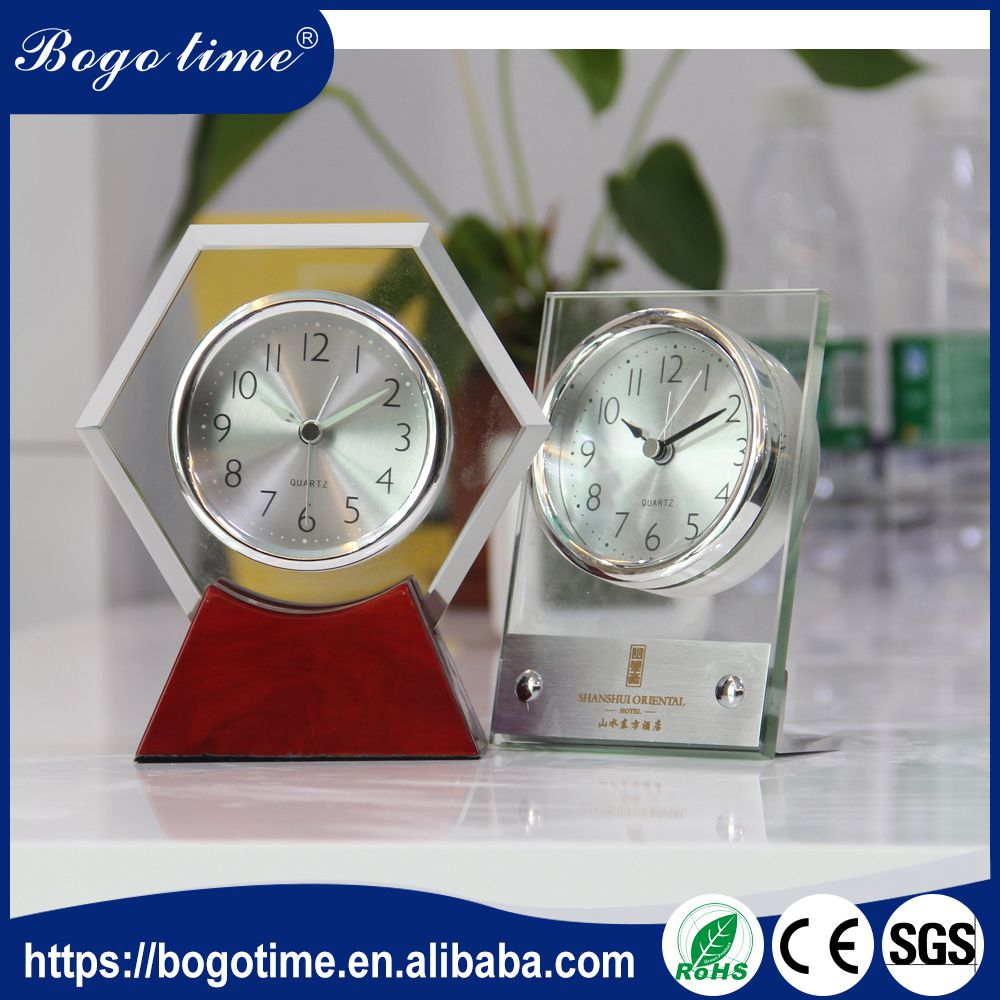 Best Price OEM CE table clock for gifts