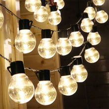 G40 globe bulb Christmas holiday led string Light decorative wedding plant light led string lights outdoor
