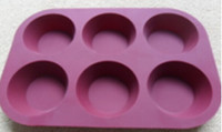 Top quality cheap silicone muffin pan, free sample cake tools
