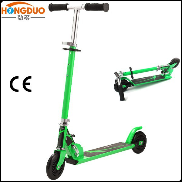 2 wheels kids dual pedal scooter