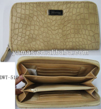 Lady stylish pu croco wallet with Martina