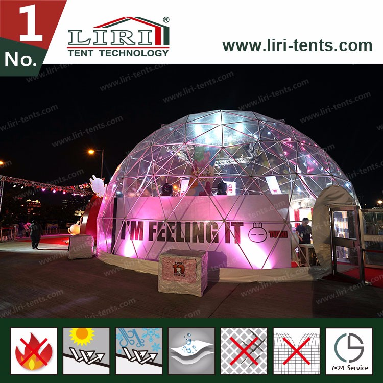 Transparent Outdoor Carnival Party Tent For Hire