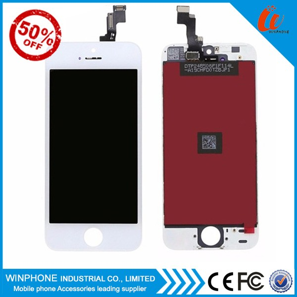 Hot selling original for apple iphone 5 lcd screen touch digitizer