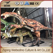 High Quality Simulation Dinosaur Model for Amusement Games