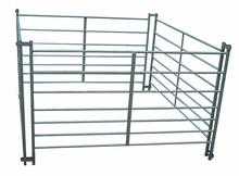most popular PVC farm fence gate livestock fence gate panels with best price
