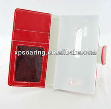 stand pouch for Nokia Lumia 928 wallet leather case