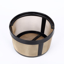 2017 Popular Reusable Stainless Steel Round Hanging Coffee Filter