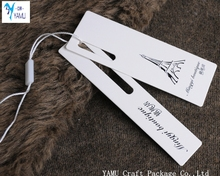 Hot fashion PRICE LABEL FOR CLOTHIING/clothing tag/clothing hang tag