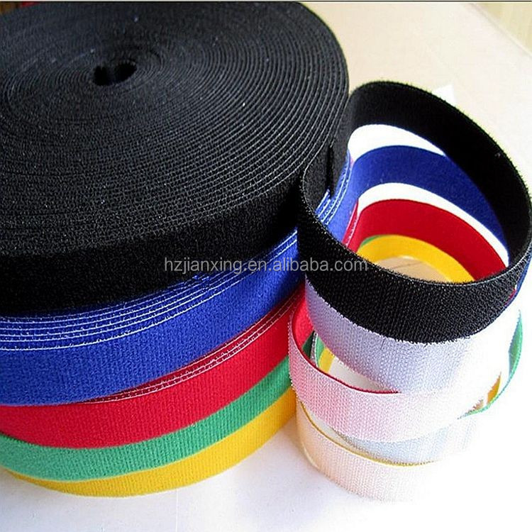 OEM plastic cable tie straps/sample free hook and loop strap
