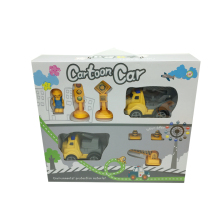 Kids Cartoon Simulation Friction Car Toys