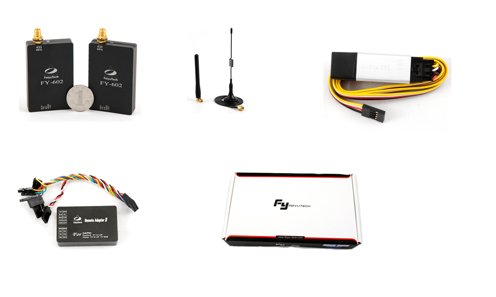 FeiyuTech newest 602 data radio with transmission distance of 3-10km for uav plane