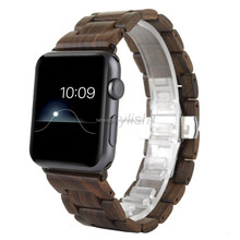 New Natural Wood Watch Band Bracelet Wristband Strap for iWatch Apple Watch 42mm