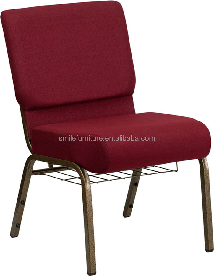 wholesale cheap interlocking church chairs metal chairs for church