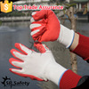 SRSAFETY 13g knitted wholesale construction gloves single latex coated glove/safety gloves