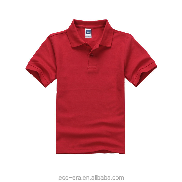 Cheap Wholesale Children Uniform Polo Shirt For Boys