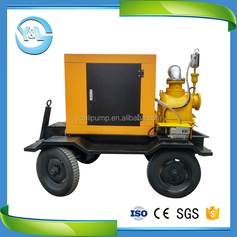 10hp horizontal suction water pump diesel engine