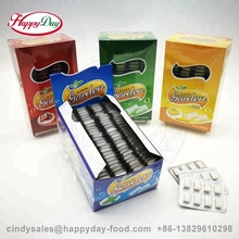 CRISPY BUBBLE GUM CHEWING GUM IN TABLET