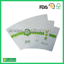 cheap paper cup raw material price for paper fan