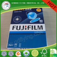 100% virgin wood pulp MF white tissue paper copy paper double a