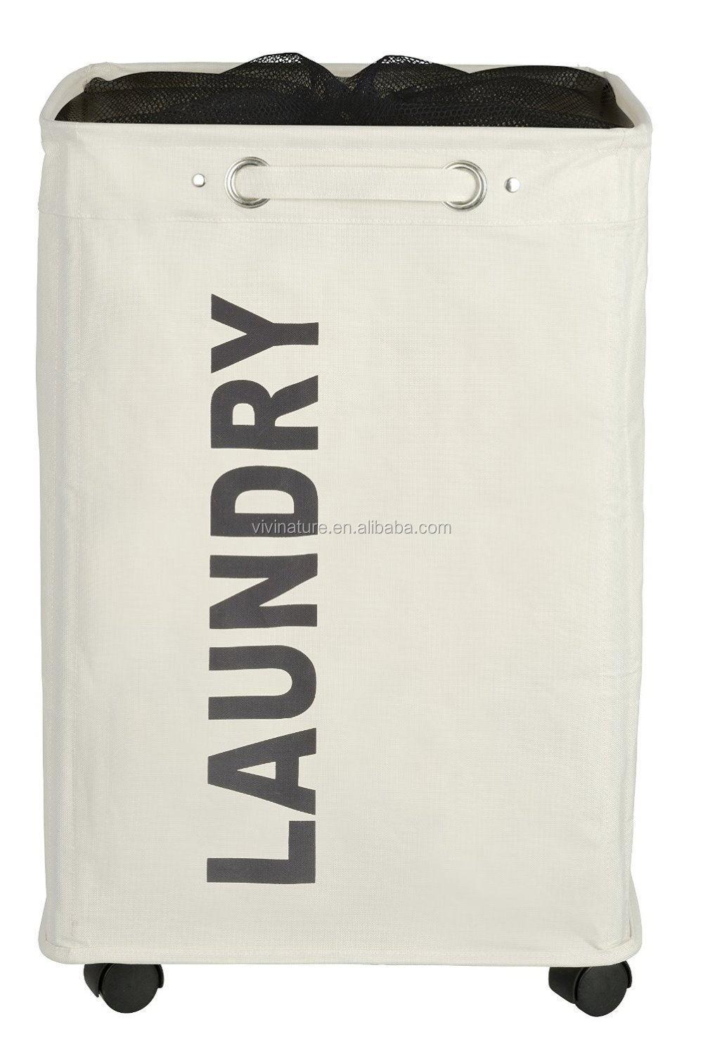 Rubbermaid Configurations Folding Laundry Hamper, 23-inch