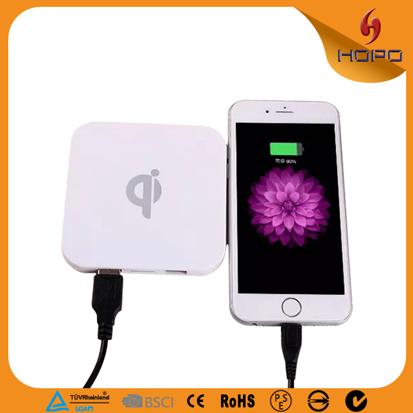 2016 New products qi wireless charger for samsung galaxy s 4